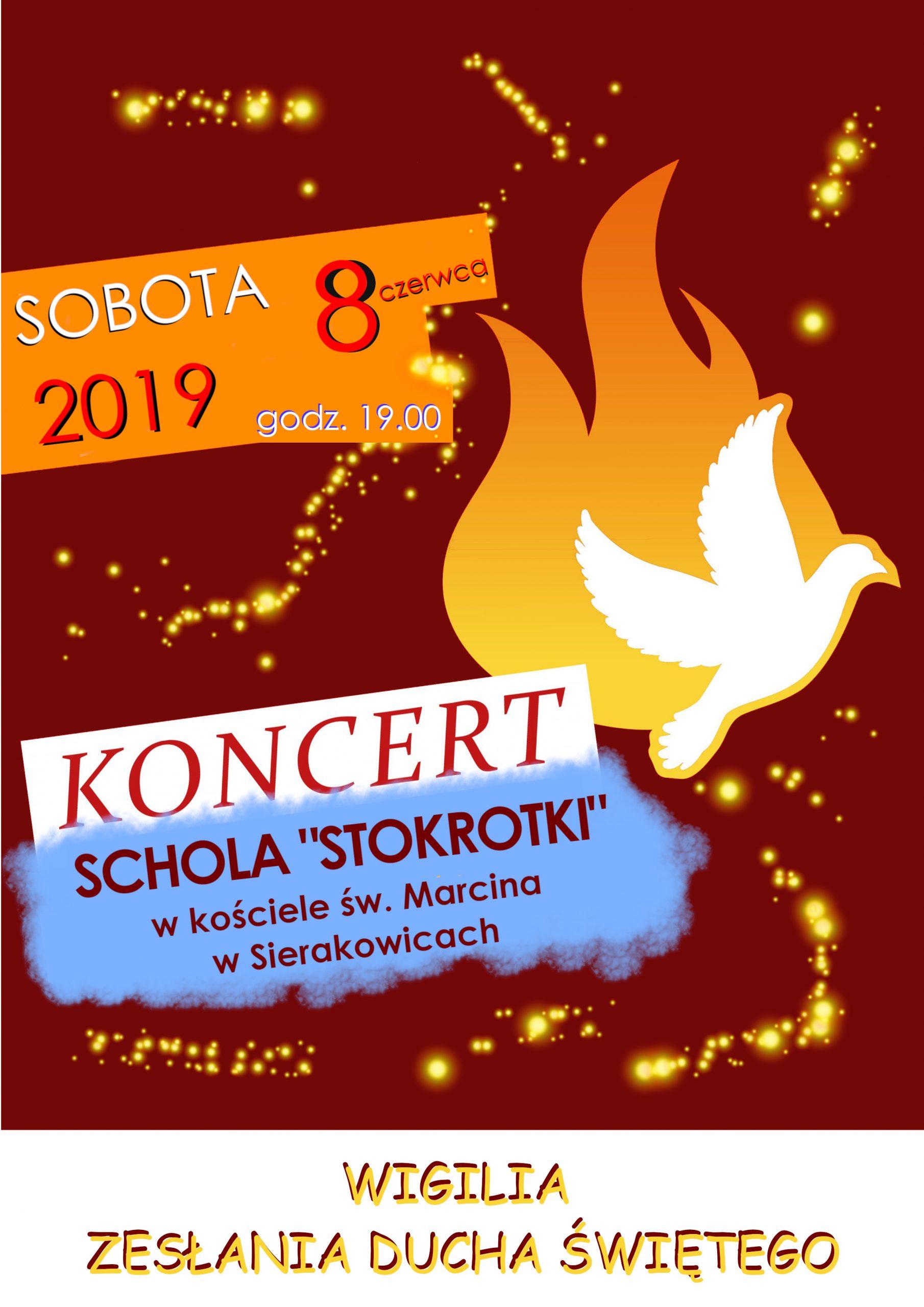 Koncert scholi 'Stokrotki' w Sierakowicach – Kartuzy.info