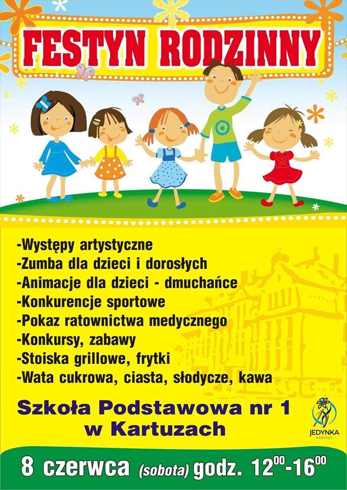 Festyn Rodzinny w SP nr 1 w Kartuzach – Kartuzy.info