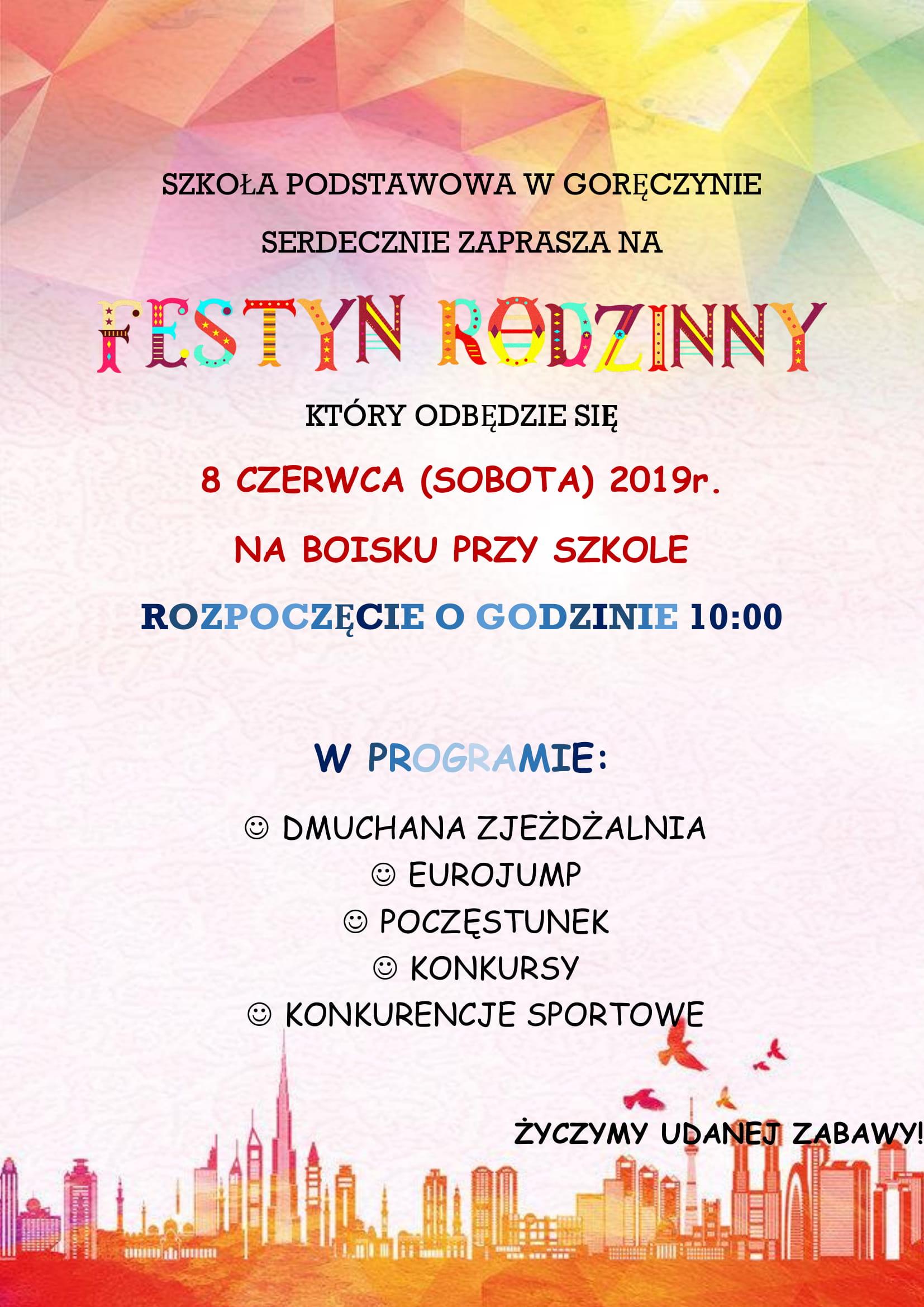 Festyn Rodzinny w Goręczynie – Kartuzy.info