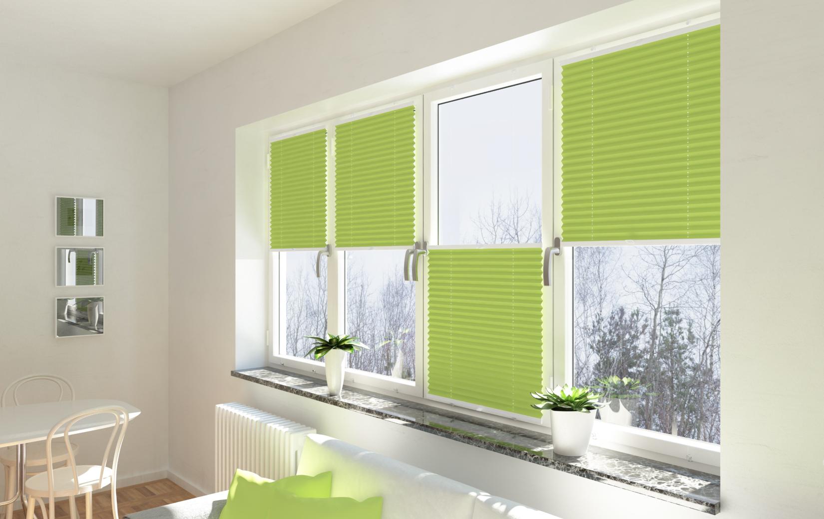 Plisy okienne - do okna, które ma styl