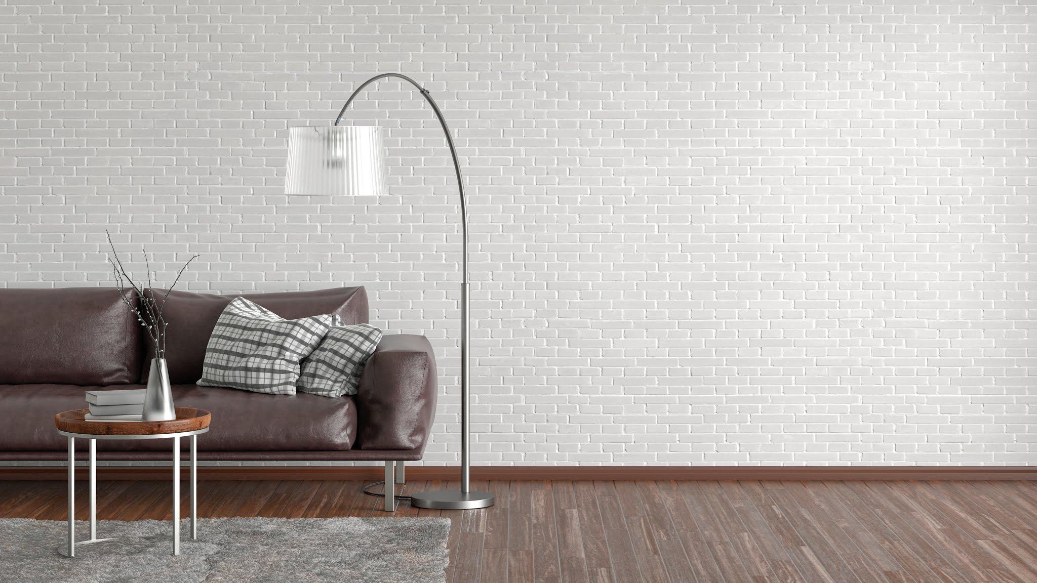 Lampa podłogowa do minimalistycznego salonu