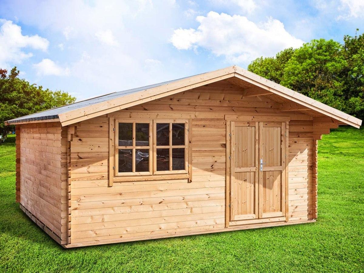 Wypocznij tego lata w drewnianym domku
