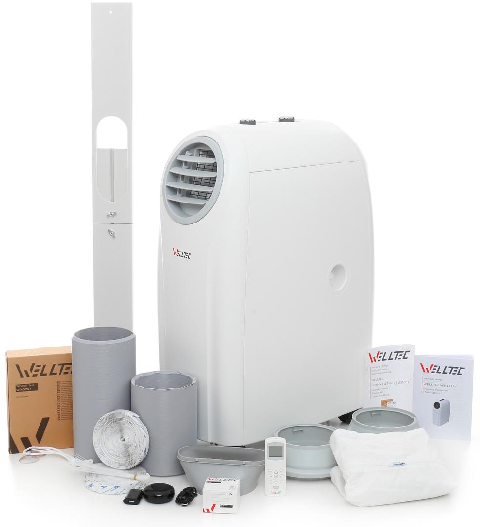 Klimatyzator przenośny -- całoroczne urządzenie wielofunkcyjne